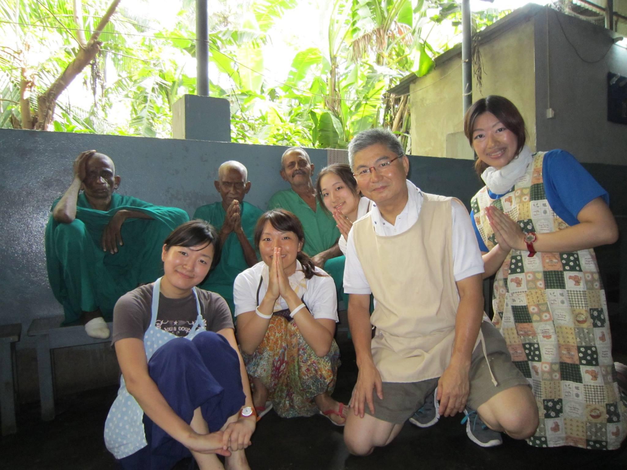インド コルカタでのボランティア研修